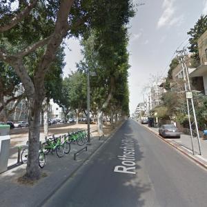 Rothschild Boulevard (StreetView)