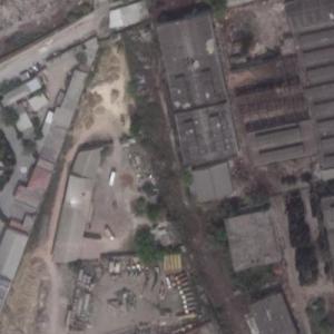 1995 Baku Metro fire site (Google Maps)