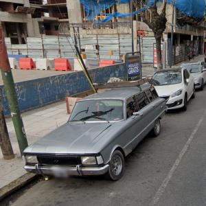 Late 70s Argentine Ford Falcon (StreetView)