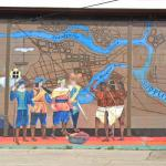 Fort Christina historic mural