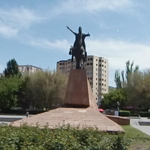 Vardan Mamikonian Statue (StreetView)