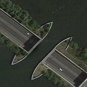 Aquaduct Veluwemeer (Google Maps)