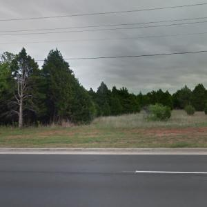 Geographical Center of Oklahoma (StreetView)