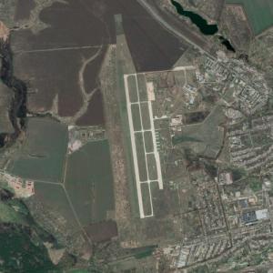 Chuguev air base (Google Maps)