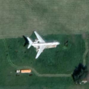 Tu-134A (Google Maps)