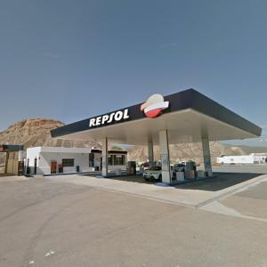 "Repsol Station (""Black Mirror"") (StreetView)"