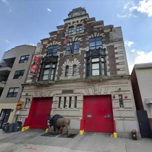 """Fire Station 55 from the TV show """"Third Watch"""" (StreetView)"""