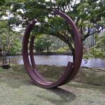 '218.5 ° Arc x 4' by Bernar Venet