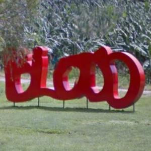'BLOOD' by Thierry Alet (StreetView)