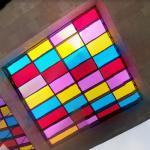 'Broken Squares' by Daniel Buren