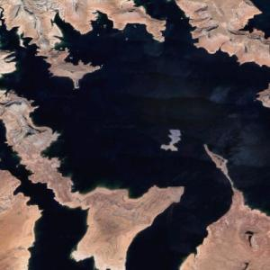 Lake Powell (Google Maps)