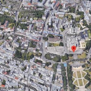 Montmartre (Google Maps)