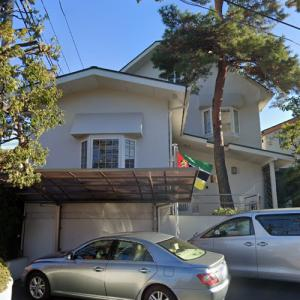 Embassy of Mozambique, Tokyo (StreetView)