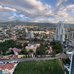 View of Tegucigalpa from Torre Vitri (StreetView)