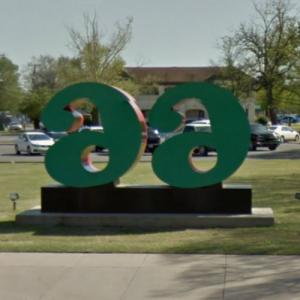 '66' by Robert Indiana (StreetView)