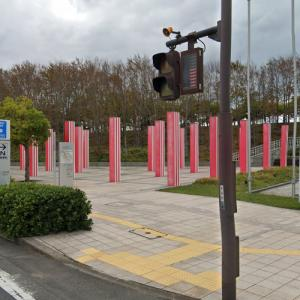 'Somewhere along The Way, Some Colors' by Daniel Buren (StreetView)