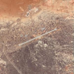 Yubileyniy Airport (Google Maps)