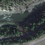 2014 Clark Fork River derailment site