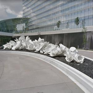 'Whirlpools' by Alice Aycock (StreetView)