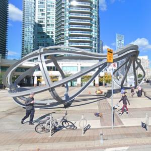 'Between the Eyes' by Richard Deacon (StreetView)