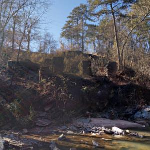Akers Mill ruins (StreetView)