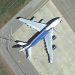 Hi Fly Malta Airbus A380-800 at BYJ