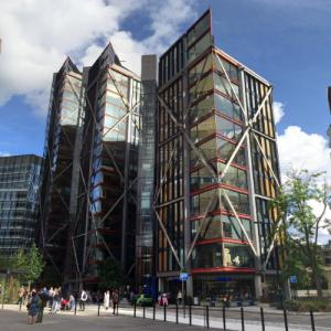 'NEO Bankside' by Rogers Stirk Harbour + Partners (StreetView)