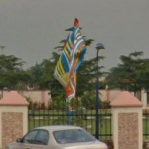 'Wind Sculpture VI' by Yinka Shonibare (StreetView)