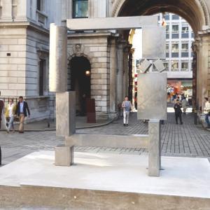 'Cubi XXVII' by David Smith (StreetView)
