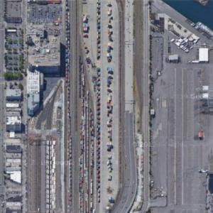 Stacy Yard - BNSF (Google Maps)