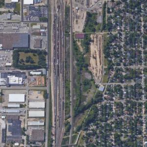 La Crosse Yard - BNSF (Google Maps)