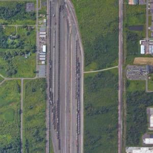28th Street Yard - BNSF (Google Maps)