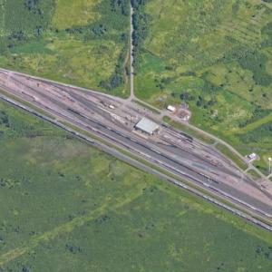 Pokegama Yard - CN (Google Maps)