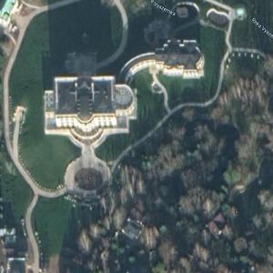 Valery Golubev's Mansion (Google Maps)