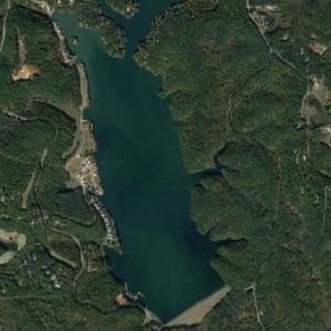 Lake Arrowhead (Google Maps)