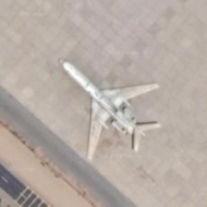 Tu-154B (Google Maps)