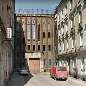 Former Gestapo prison in Legnica (StreetView)
