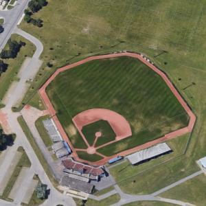 """Bernie Arbour Memorial Stadium (""""The Handmaid's Tale"""") (Google Maps)"""