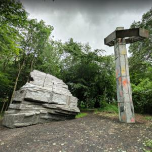 'Quarry' by Phyllida Barlow (StreetView)