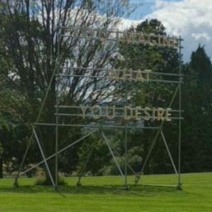 'You Imagine What You Desire' by Nathan Coley (StreetView)