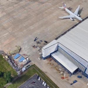 Air Midwest Flight 5481 crash site (Google Maps)