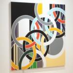 '1952 (Rings)' by Sarah Morris