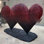 'Twin 6' Hearts' by Jim Dine