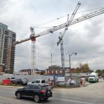 Rhythm Condominiums under construction