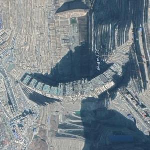 Baihetan Dam (Google Maps)