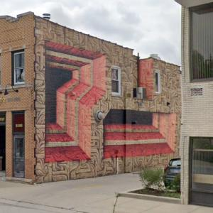 'Curragh Irish Pub Mural' by Astro Odv Cbs (StreetView)