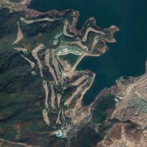 Pyongyang Golf Course (Google Maps)