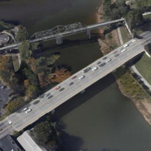 "North 2nd Avenue Bridge (""Black Widow"") (Google Maps)"