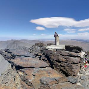 Summit of Mulhacén (highest point on the Iberian Peninsula) (StreetView)