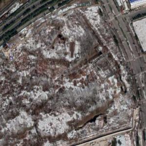 Yuzui Tower under construction (Google Maps)